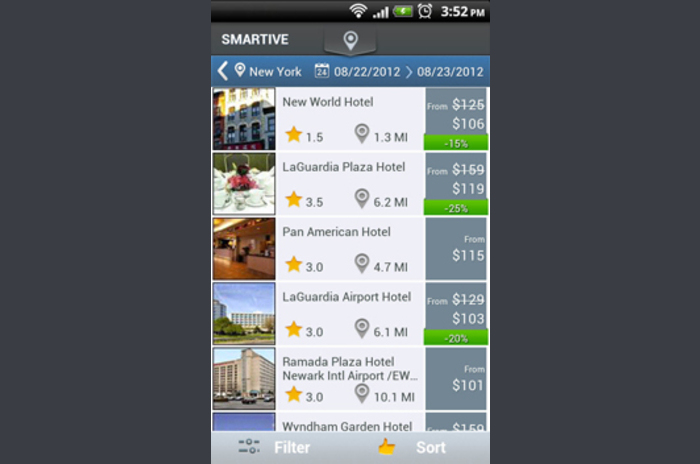 Smartive Hotels Free Hotel Booking App