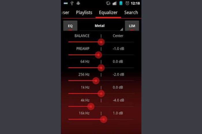 GoneMAD Music Player ICS Holo Red Skin