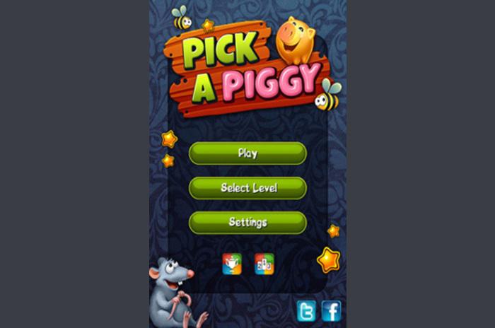 Bir Piggy seçin