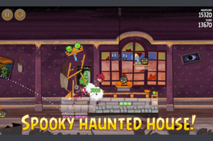 Angry Birds Seasons Haunted Hogs!  - Nowe poziomy