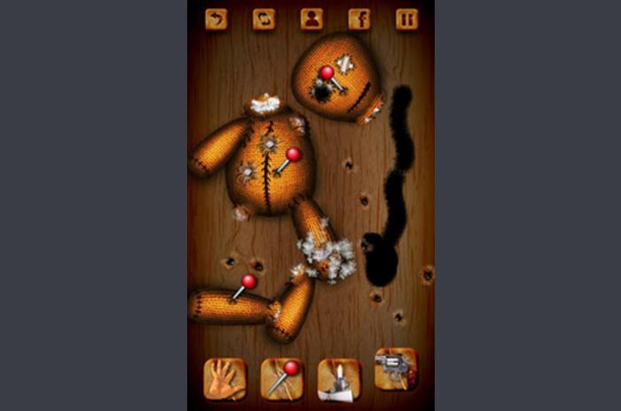 Voodoo buzunar - papusa voodoo în buzunar