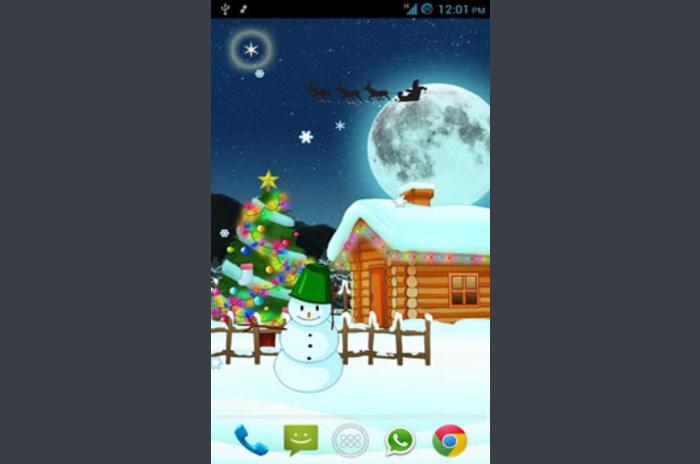 Magia Świąt Live Wallpaper - Magic Christmas Wallpaper