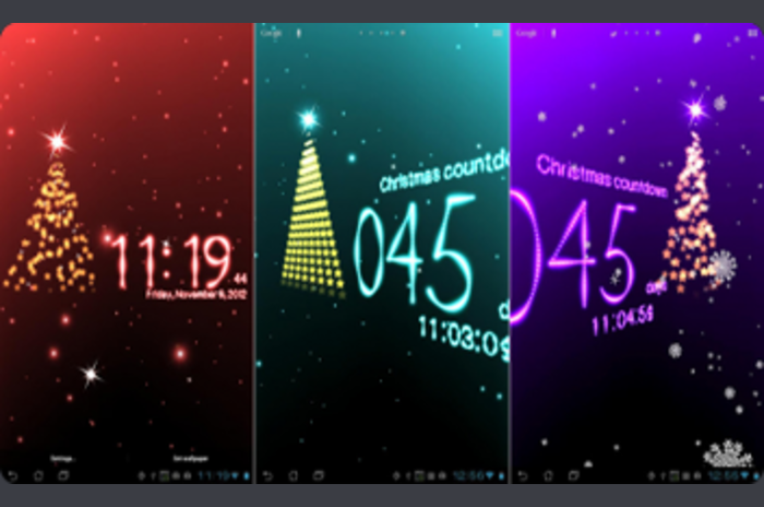 Magic Christmas Live Wallpaper - mooie Christmas wallpaper