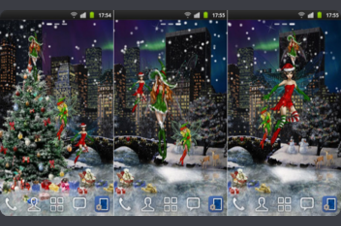 New York Winter Live Wallpaper - Winter à New York