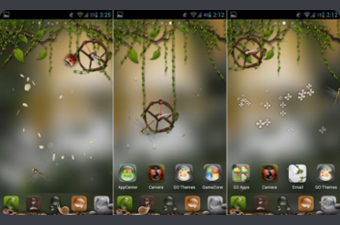 Driada - Go Launcher Theme Super