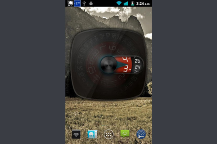 wClock Widget Intreg