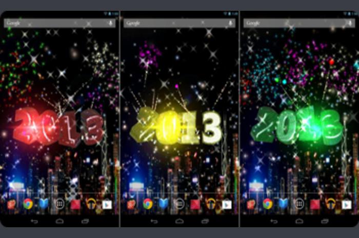 2013 Nova Godina Premium - 3D LiveWallPaper