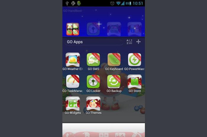 Karácsony Go Launcher Theme