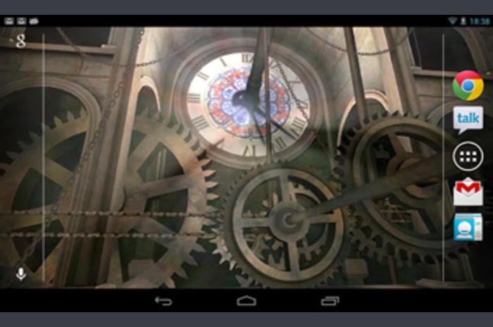 หอนาฬิกาวอลล์เปเปอร์ 3D Live