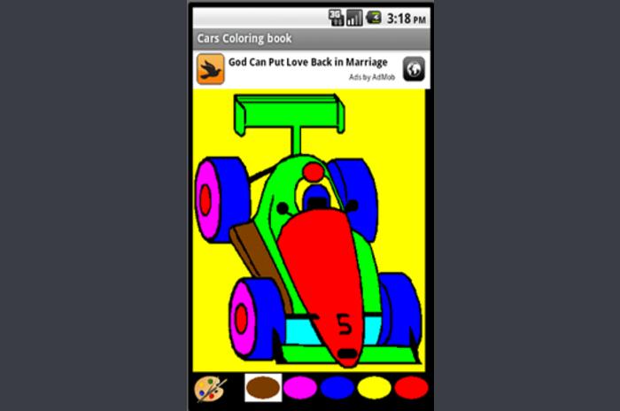 Auto's Coloring Book