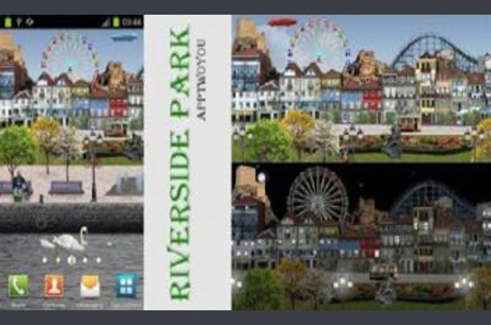 Riverside Park Live Wallpaper