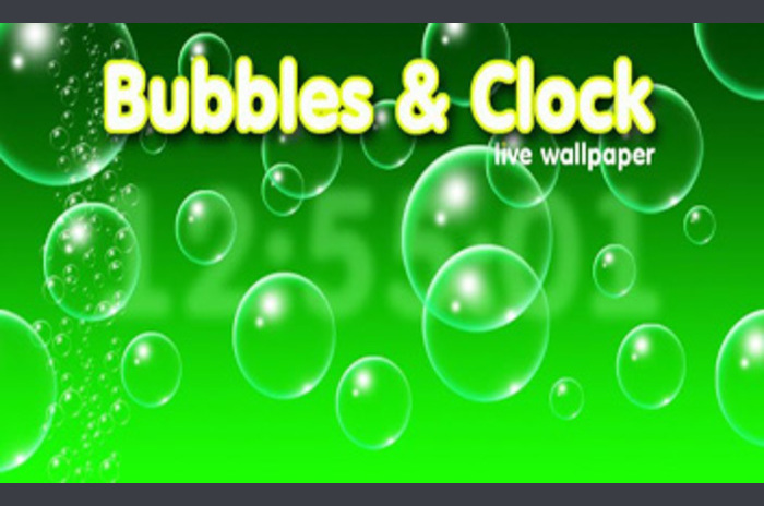 Bubbles & Clock