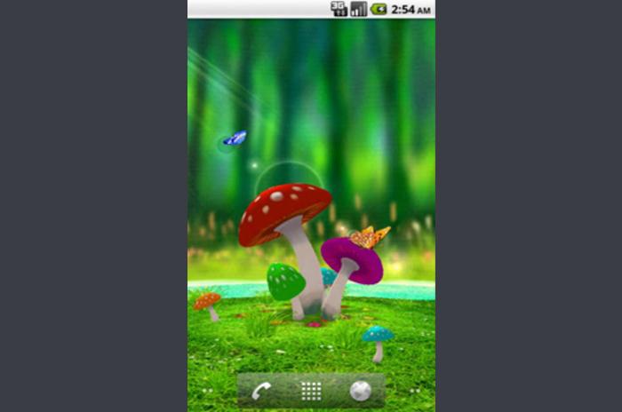 3D Garden Mushroom