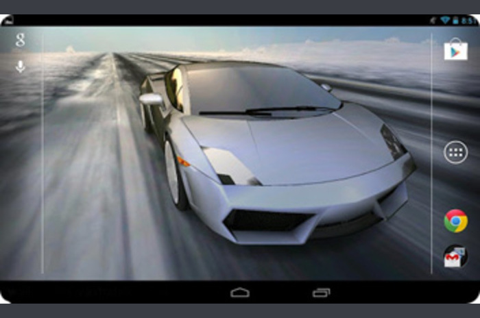 Car 3D Live Wallpaper