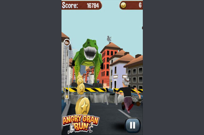 Angry Gran Run - trčanje igra