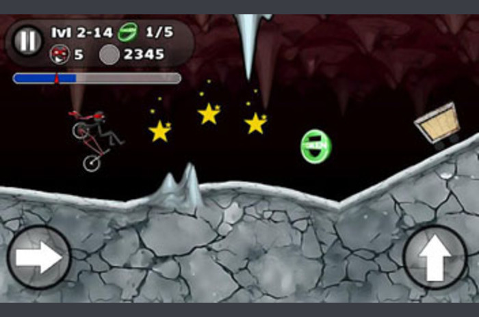 Stickman BMX Stunts Bike