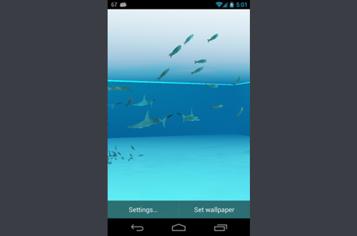 Shark 3D Live Wallpaper