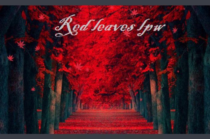 Hojas rojas LPW