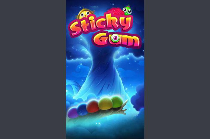 Sticky gumit