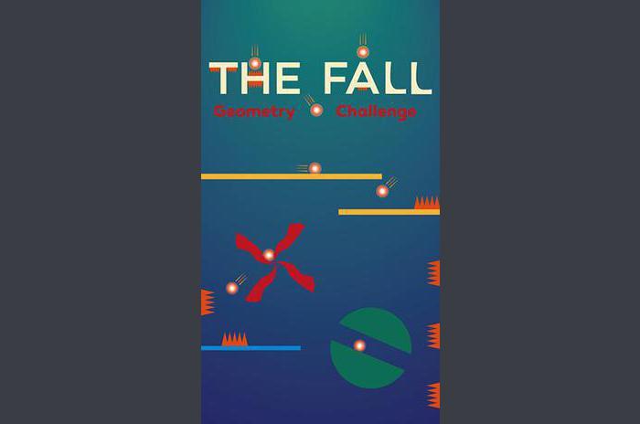 La chute: défi de la géométrie