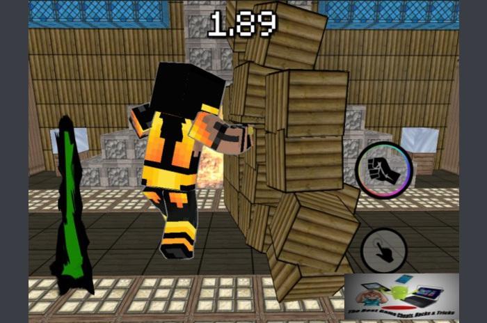 بكسل مقاتلة 3D