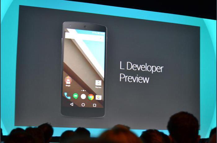 Platforma Prezentare generală Android L