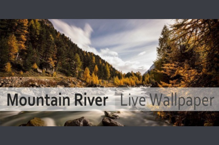 River Mountain Live Wallpaper