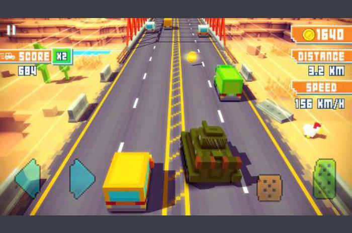 Blocky carretera