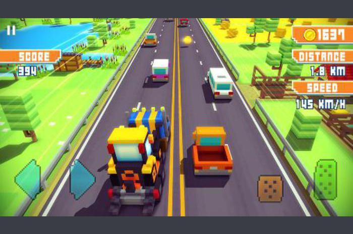 Blocky autocesta