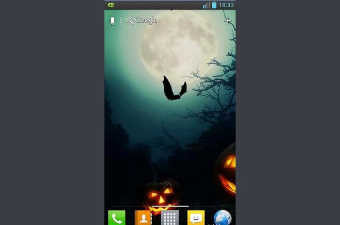 Halloween HD élő háttérkép