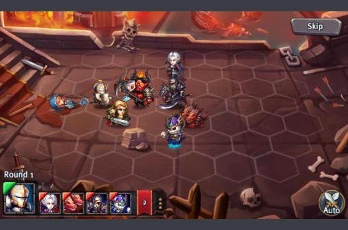 Heroes tactics and strategy