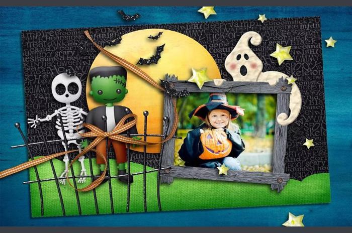 Cadılar Bayramı Fotoğraf Çerçeveleri