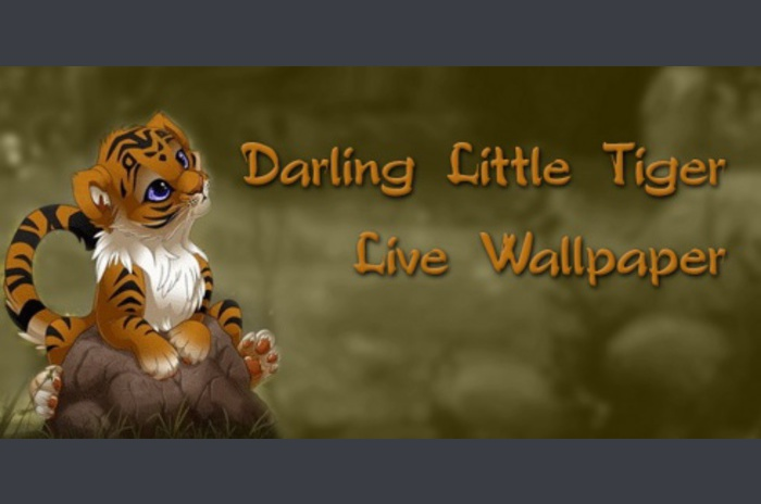 Darling, Little Tiger Live Wallpaper