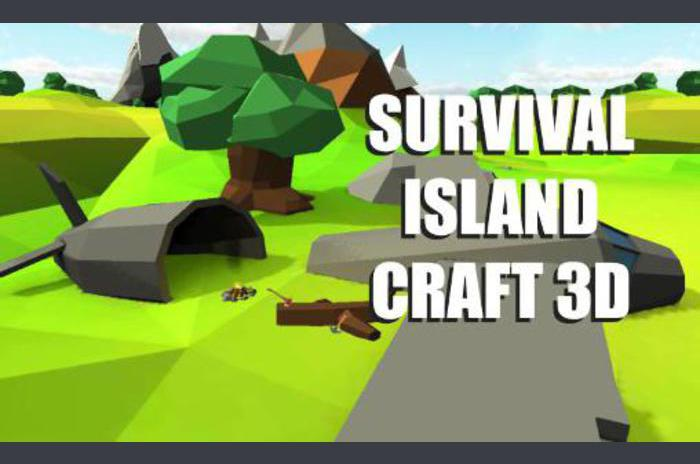 Survival eiland: Craft 3D
