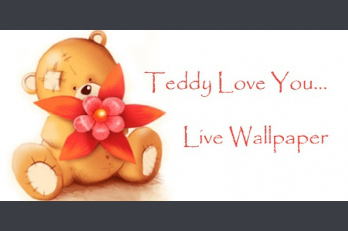 Teddy Love You ... Live Wallpaper