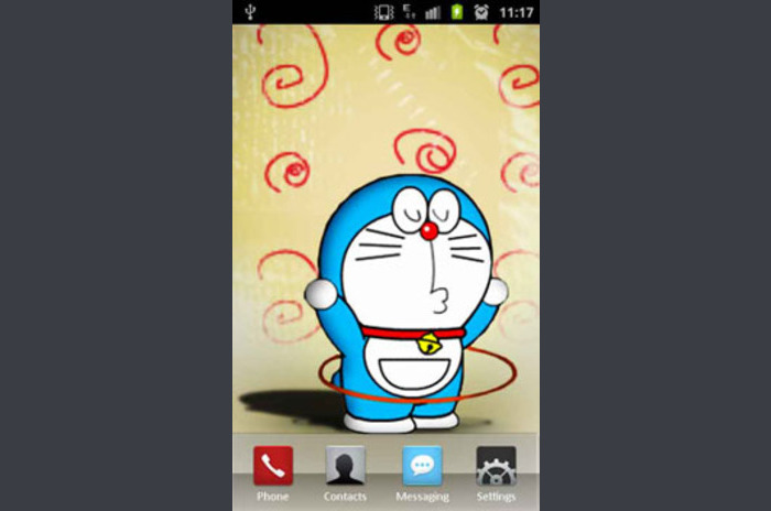 Doraemon is Playing LWP