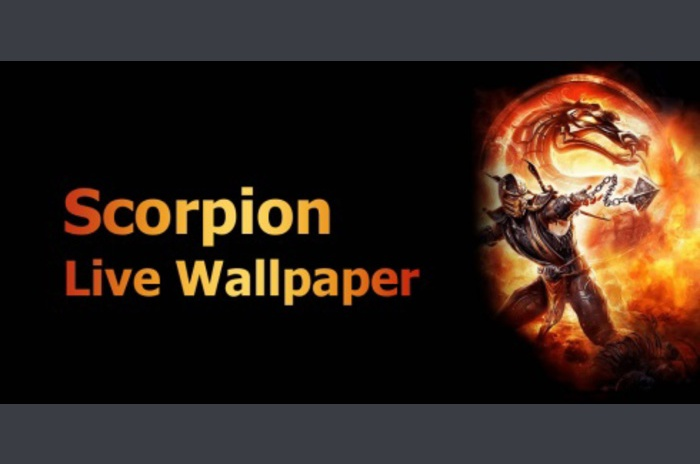 Scorpion Live Wallpaper