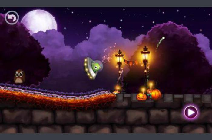 Halloween town racing