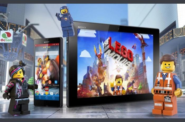 XPERIA ™ LEGO® MOVIE ™ Tema