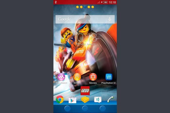 XPERIA ™ Den LEGO® MOVIE ™ Theme