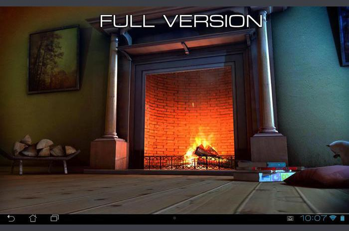 Fireplace 3D FREE lwp