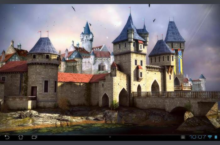 Castle 3D gratis live wallpaper