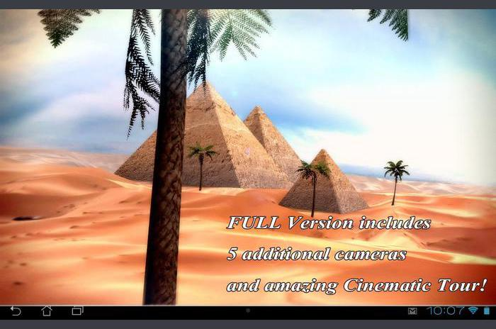 Mısır 3D Pro Live Wallpaper