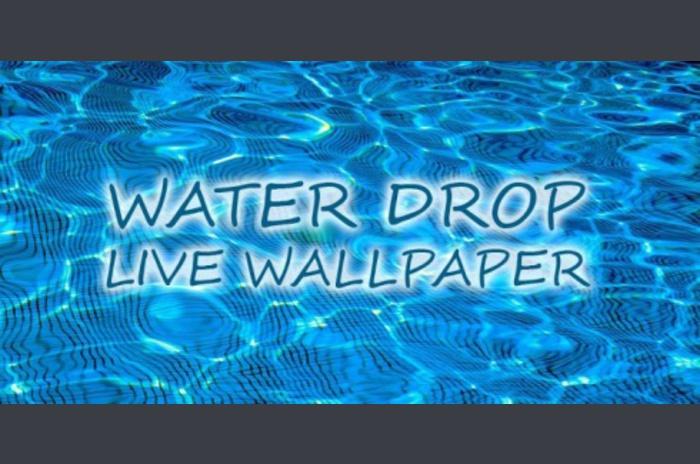 Su Bırak canlı duvar kağıdı