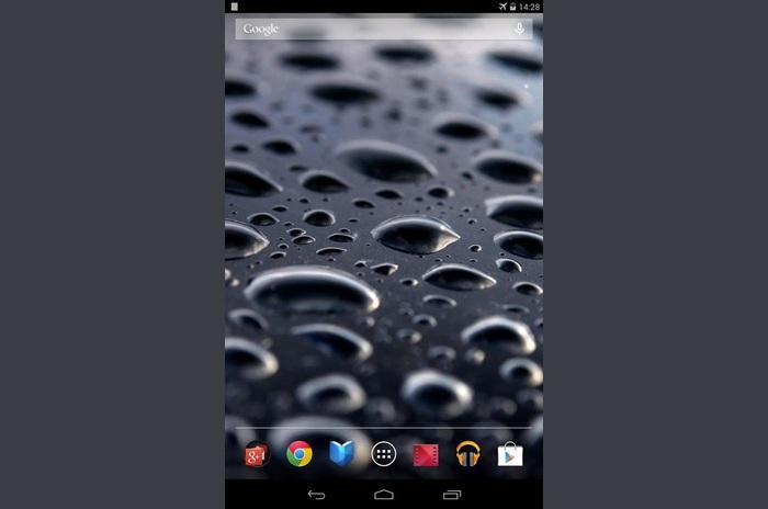 Galaxy S4 Noire Live Wallpaper