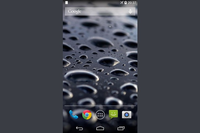 Galaxy S4 Crna uživo Pozadina