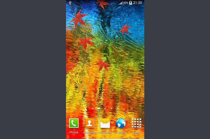 Galaxy S5 Oil Painting Live WP