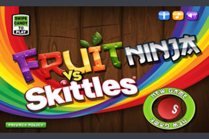 ผลไม้นินจา VS Skittles