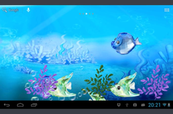 Crystal riba akvarij