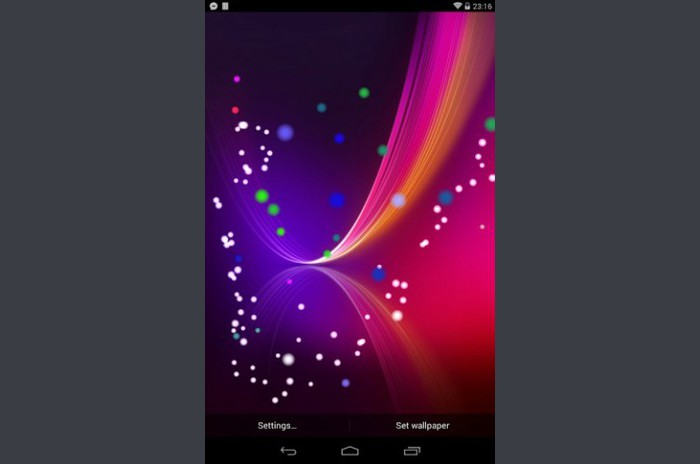 G Flex Live Wallpaper